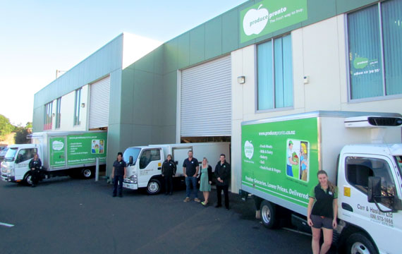 office delivery trucks auckland
